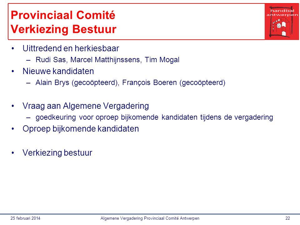 Provinciaal Comité Verkiezing Bestuur