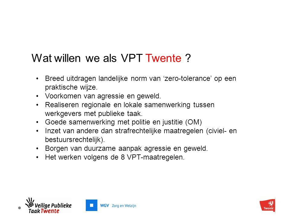 Wat willen we als VPT Twente