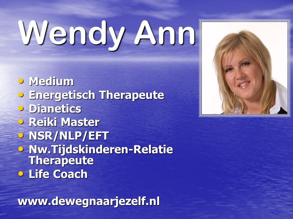 Wendy Ann Medium Energetisch Therapeute Dianetics Reiki Master
