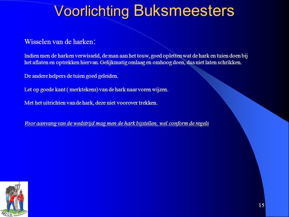 Voorlichting Buksmeesters