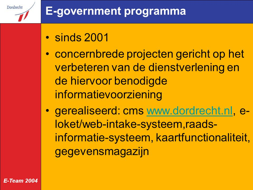 E-government programma