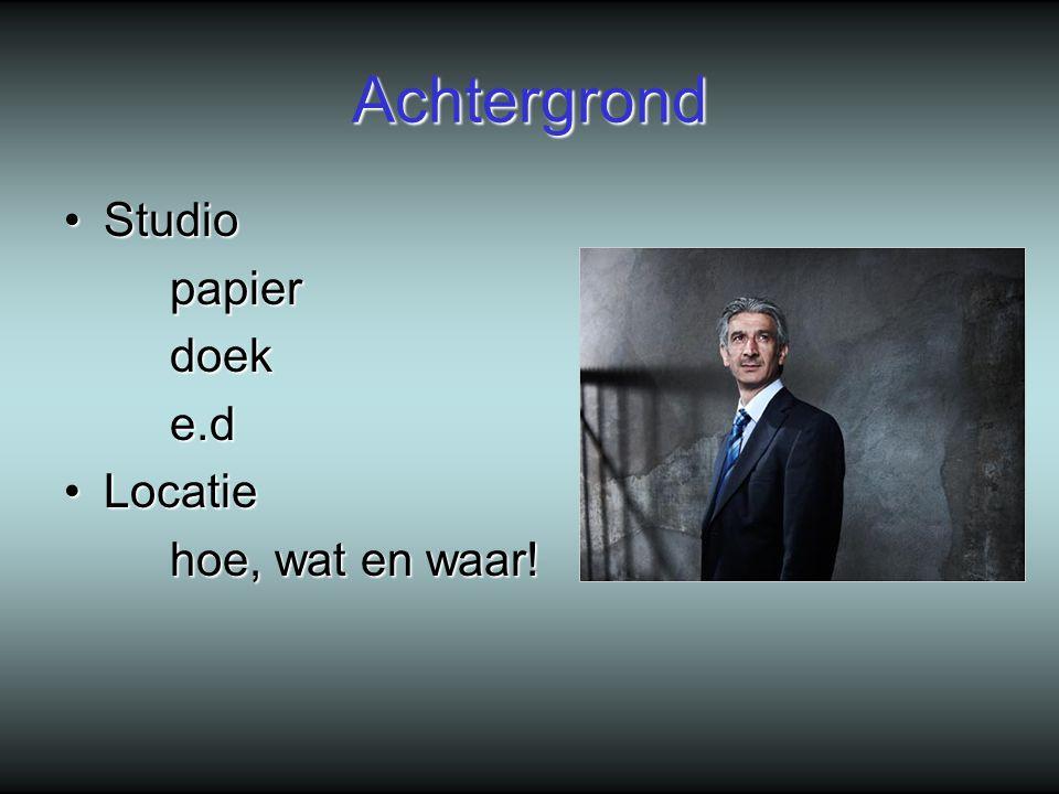 Achtergrond Studio papier doek e.d Locatie hoe, wat en waar!