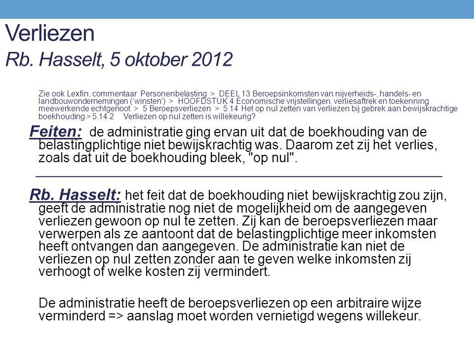 Verliezen Rb. Hasselt, 5 oktober 2012