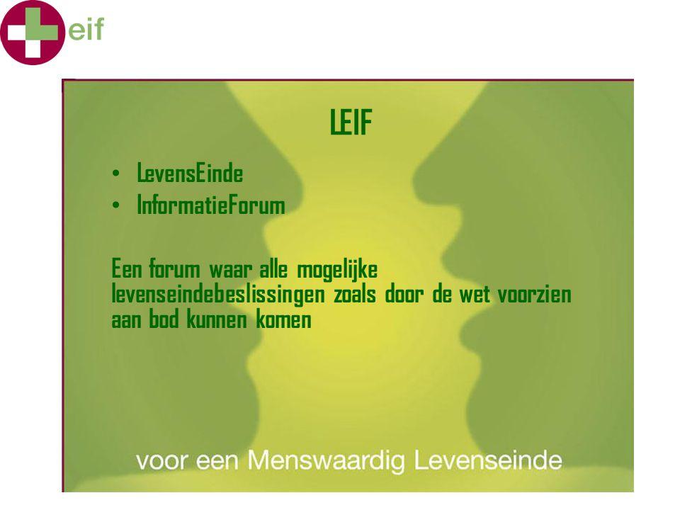 LEIF LevensEinde InformatieForum