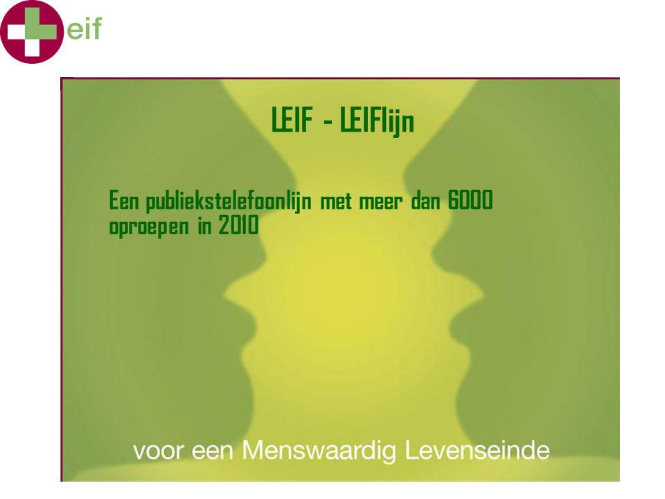 LEIF - LEIFlijn Een publiekstelefoonlijn met meer dan 6000 oproepen in 2010