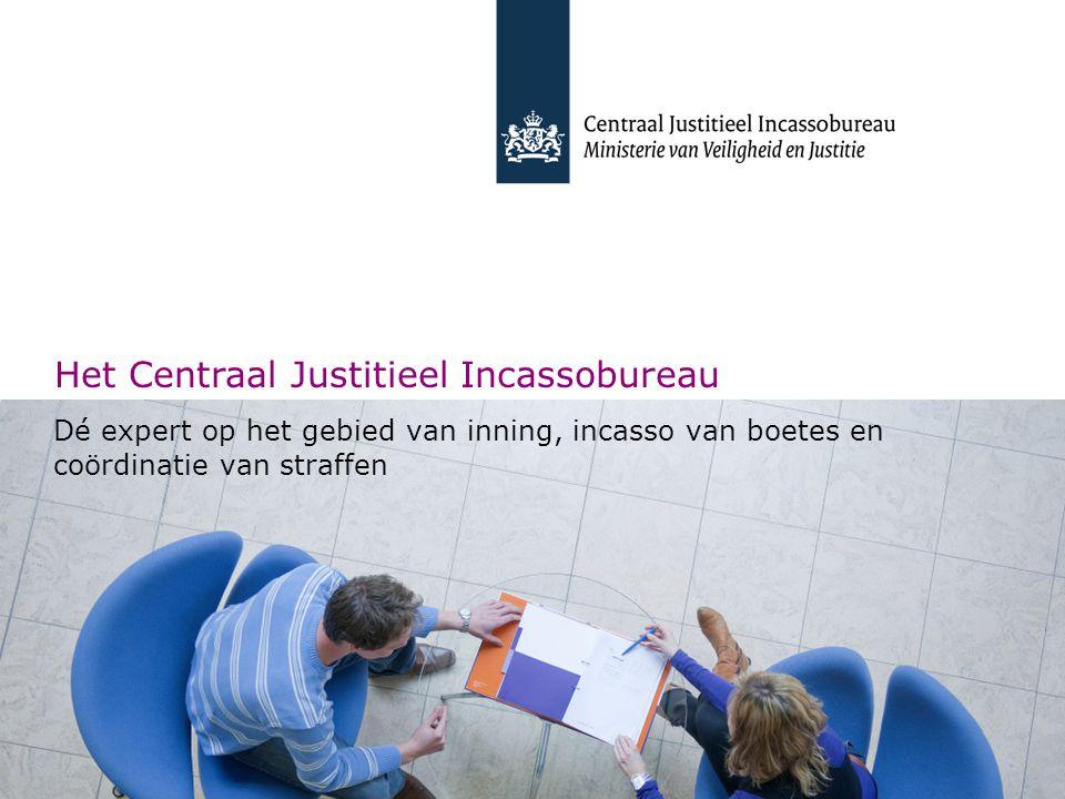Het Centraal Justitieel Incassobureau