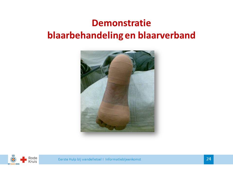 blaarbehandeling en blaarverband