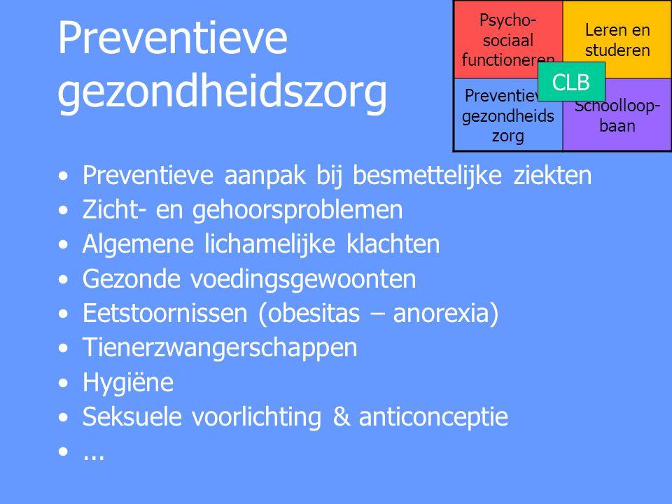 Preventieve gezondheidszorg