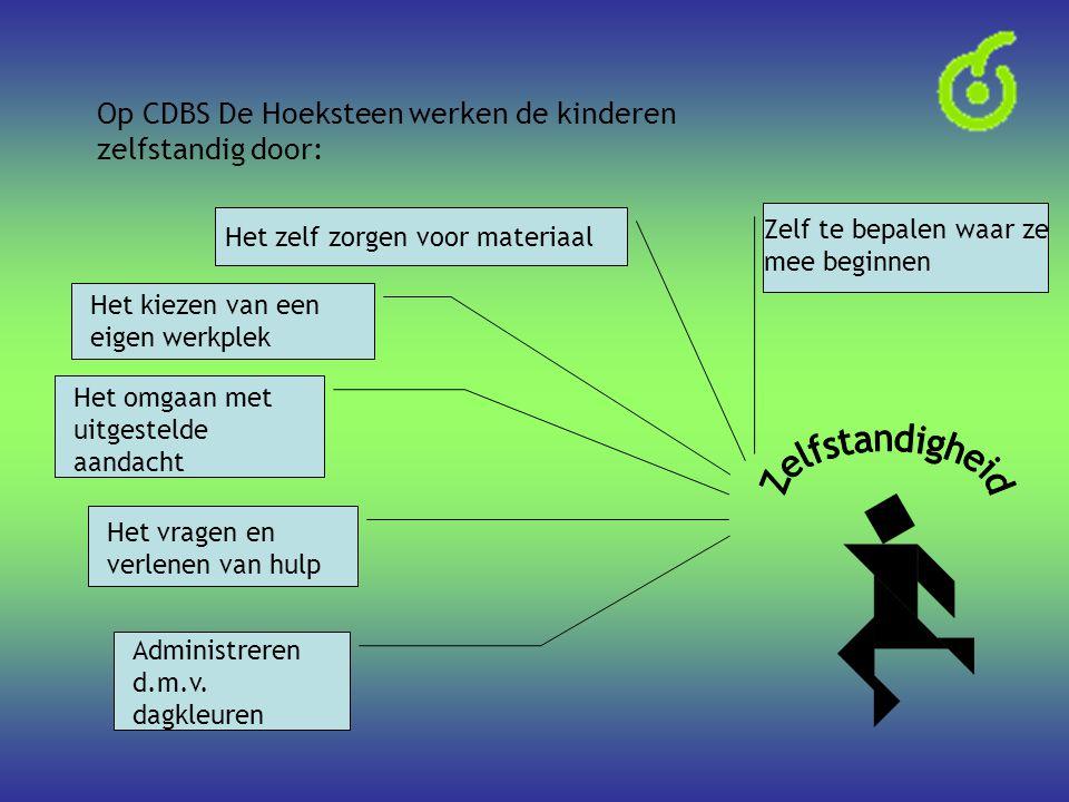 Op CDBS De Hoeksteen werken de kinderen zelfstandig door: