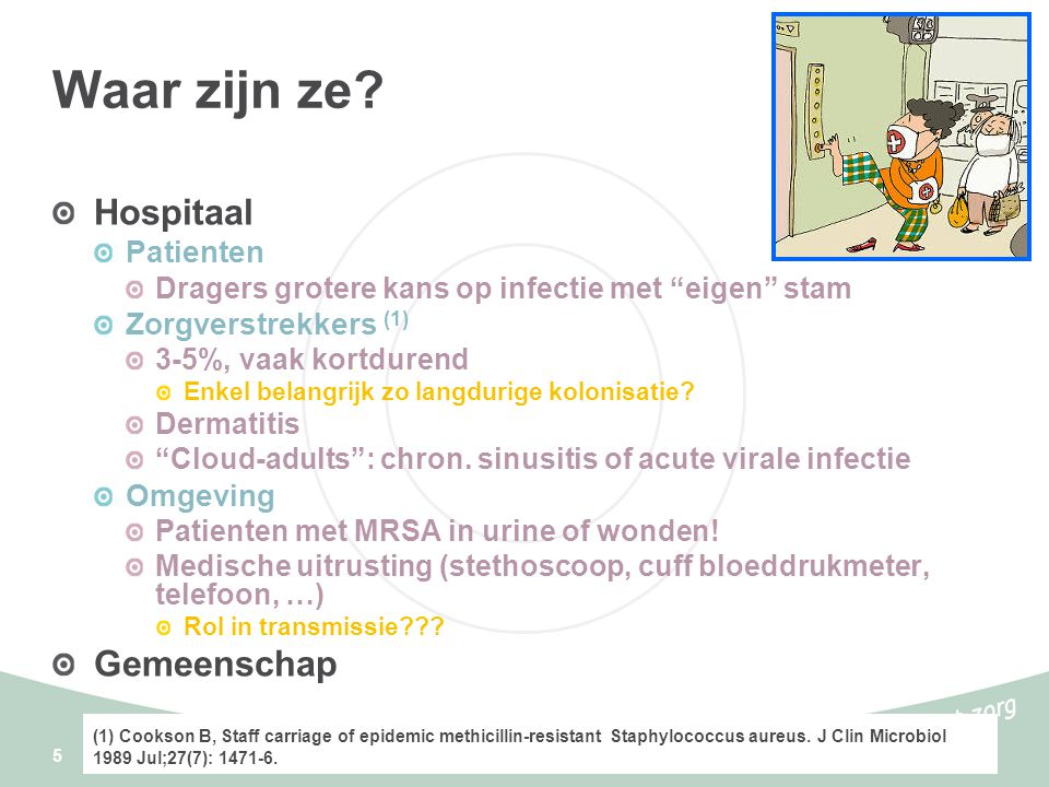Waar zijn ze Hospitaal Gemeenschap Patienten Zorgverstrekkers (1)