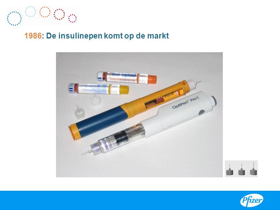 1986: De insulinepen komt op de markt
