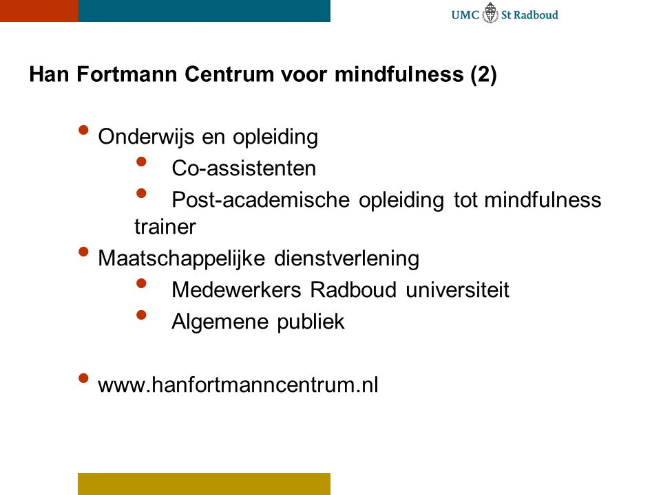 Han Fortmann Centrum voor mindfulness (2)