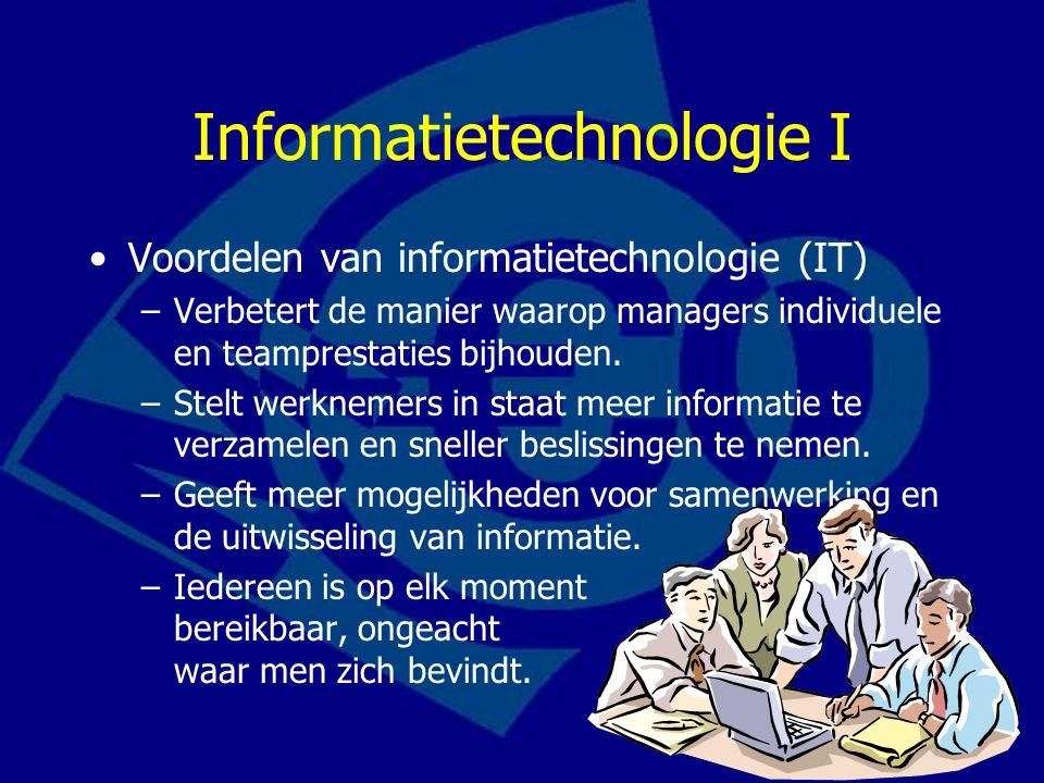Informatietechnologie I