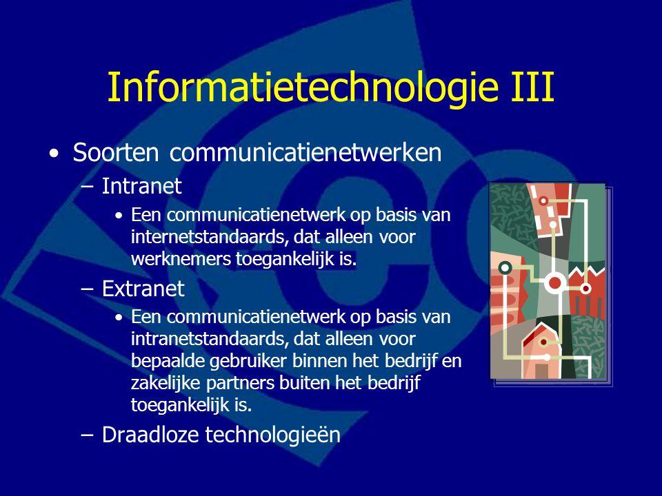 Informatietechnologie III