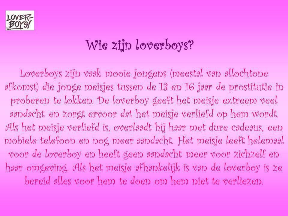 Wie zijn loverboys