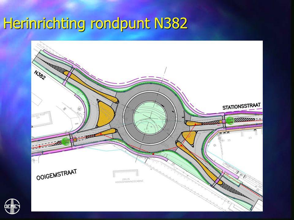 Herinrichting rondpunt N382
