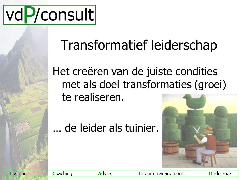 Transformatief leiderschap