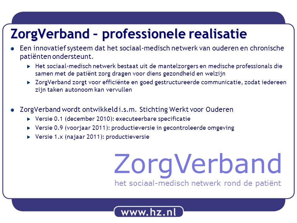 ZorgVerband – professionele realisatie