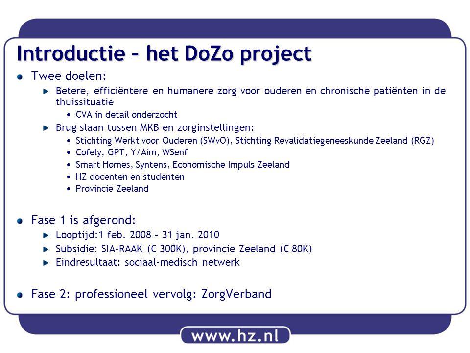 Introductie – het DoZo project