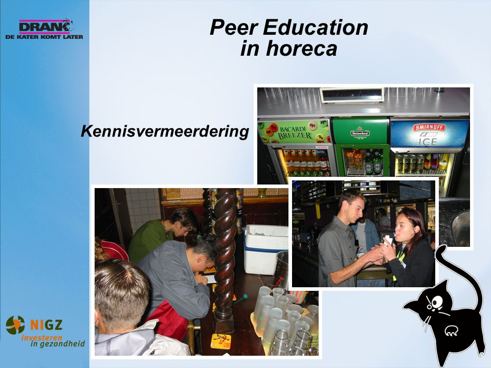 Peer Education in horeca
