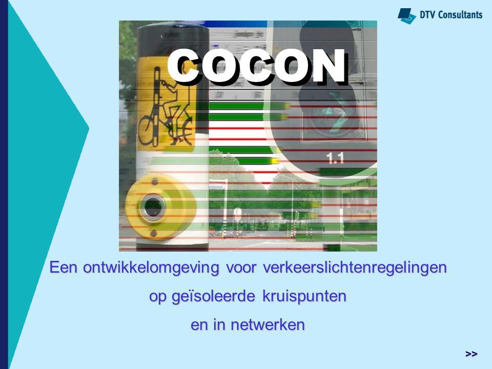 COCON COCON Een ontwikkelomgeving voor verkeerslichtenregelingen
