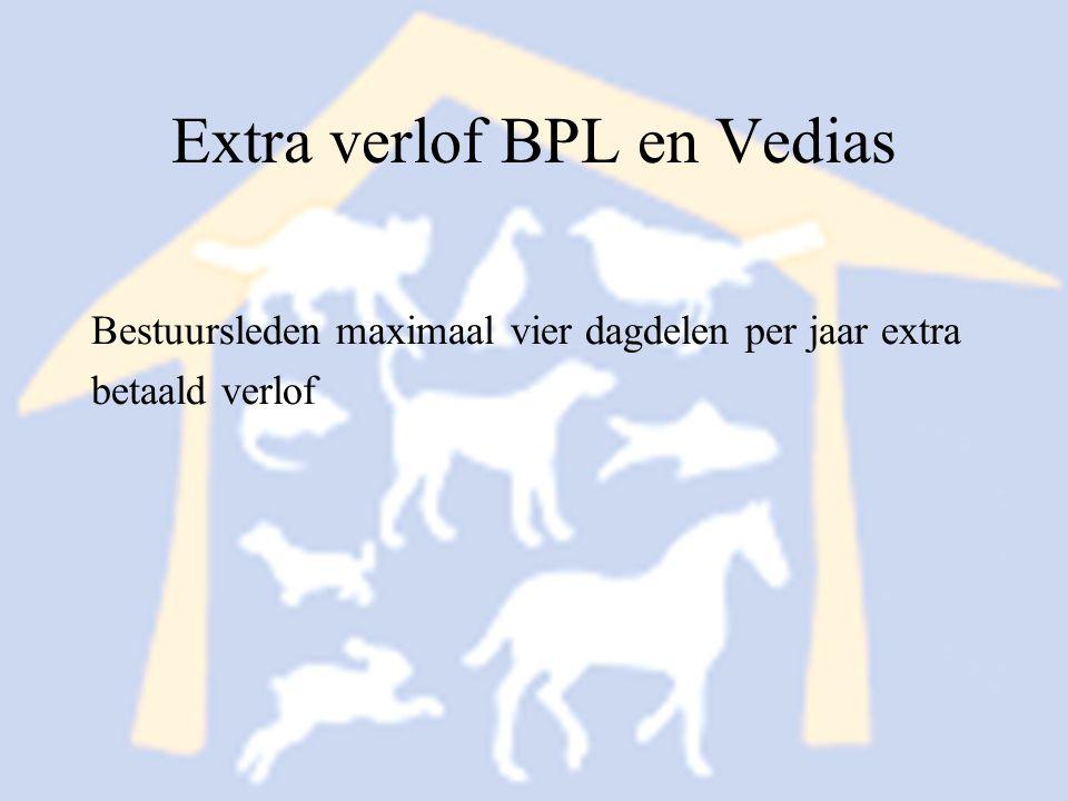 Extra verlof BPL en Vedias