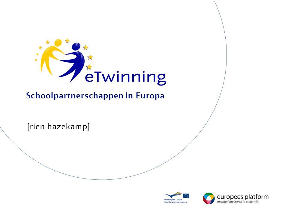 Schoolpartnerschappen in Europa