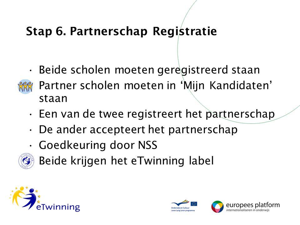 Stap 6. Partnerschap Registratie