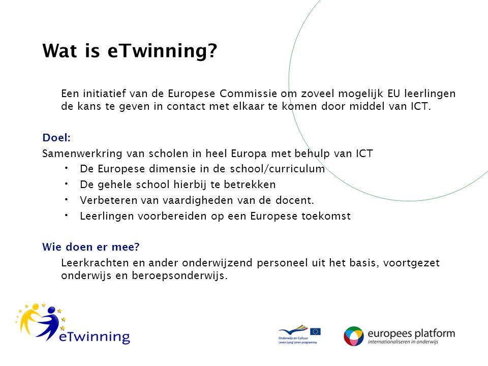 Wat is eTwinning