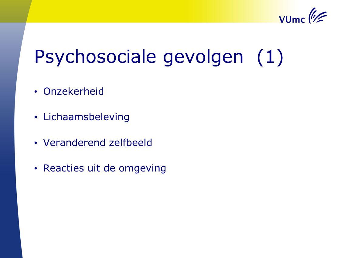 Psychosociale gevolgen (1)