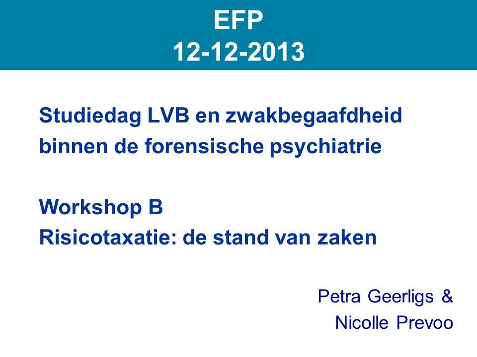 EFP 12-12-2013 Studiedag LVB en zwakbegaafdheid
