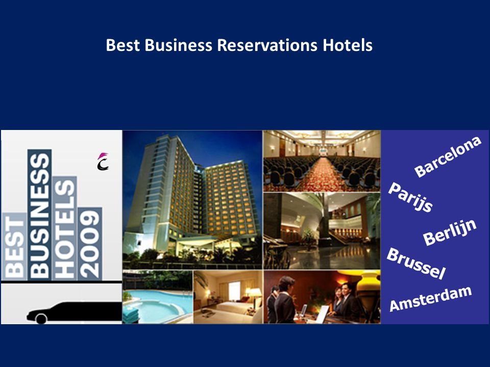 Best Business Reservations Hotels