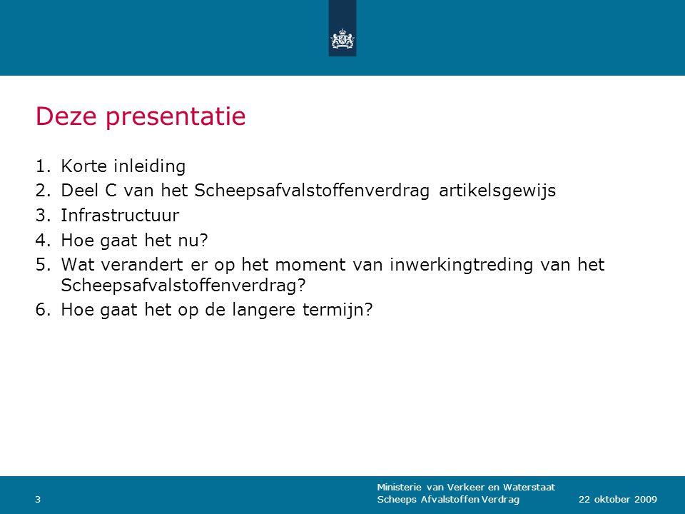 Deze presentatie Korte inleiding