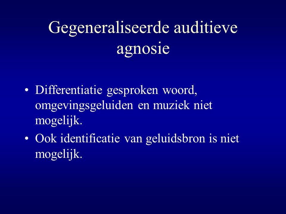 Gegeneraliseerde auditieve agnosie