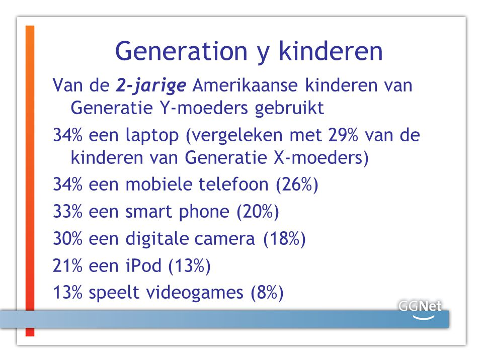 Generation y kinderen