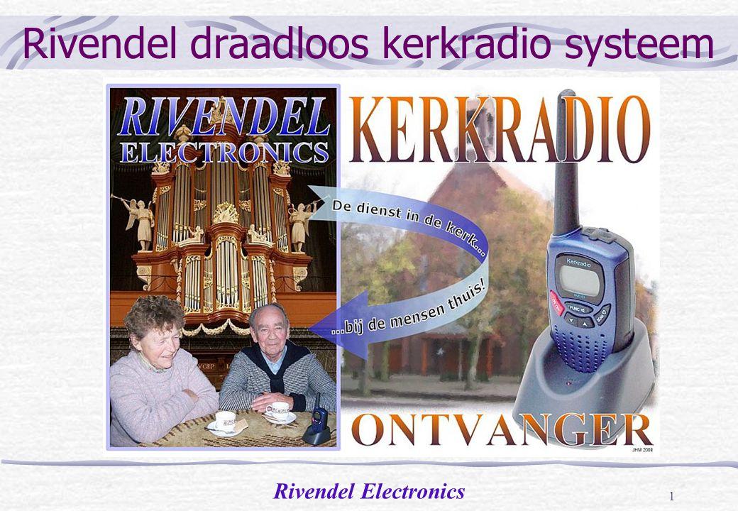 Rivendel draadloos kerkradio systeem