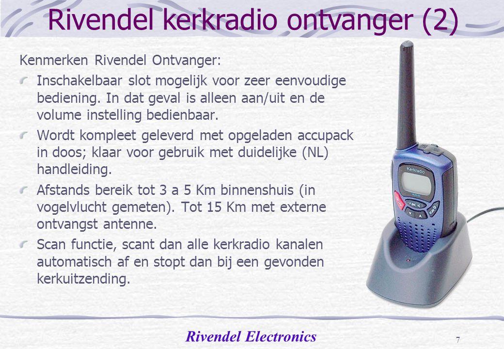 Rivendel kerkradio ontvanger (2)