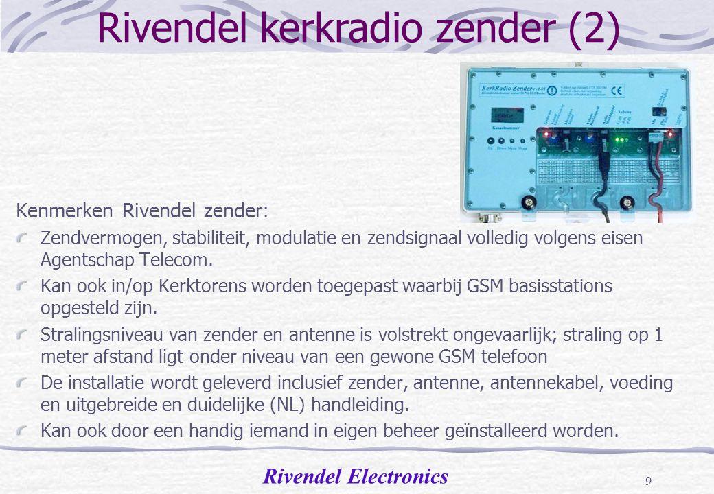 Rivendel kerkradio zender (2)