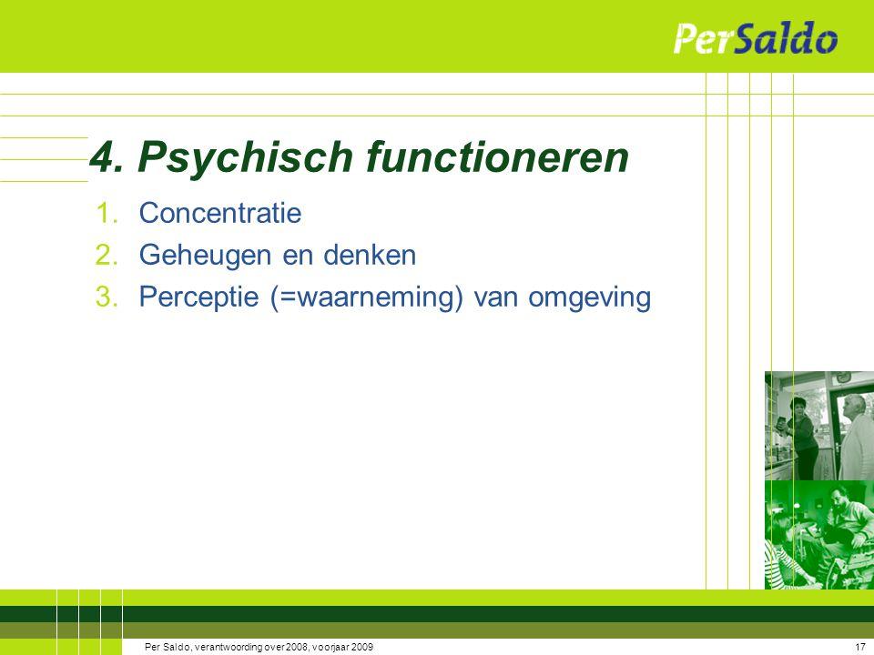 4. Psychisch functioneren