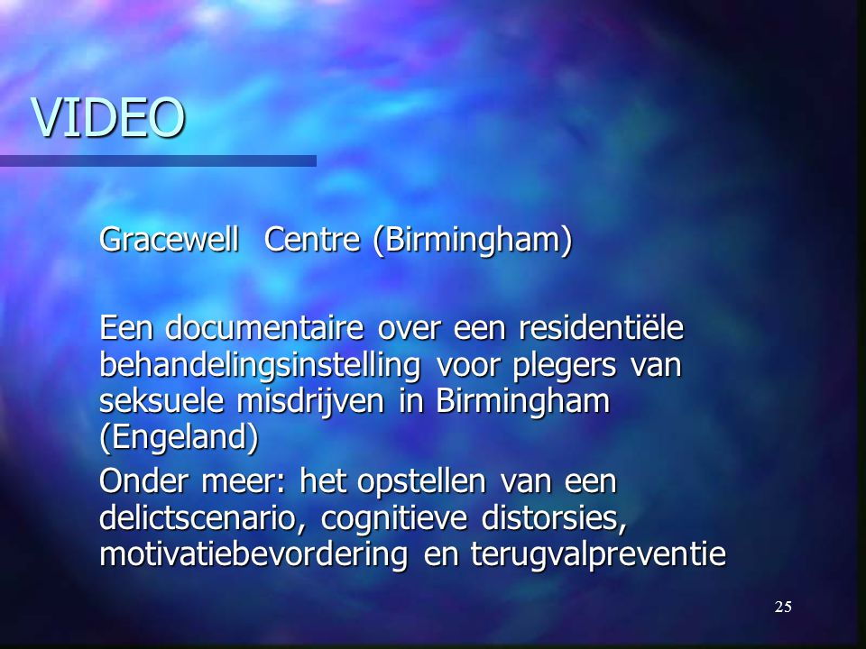 VIDEO Gracewell Centre (Birmingham)