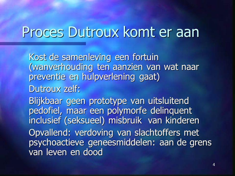 Proces Dutroux komt er aan