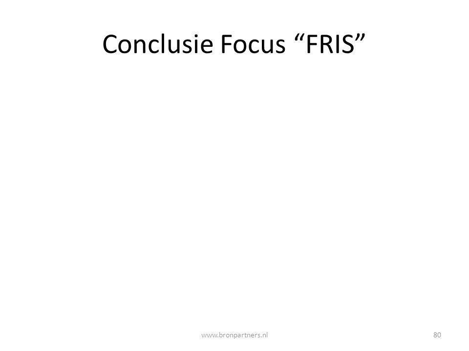 Conclusie Focus FRIS