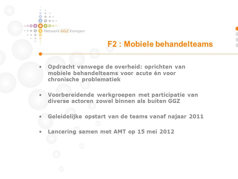 F2 : Mobiele behandelteams