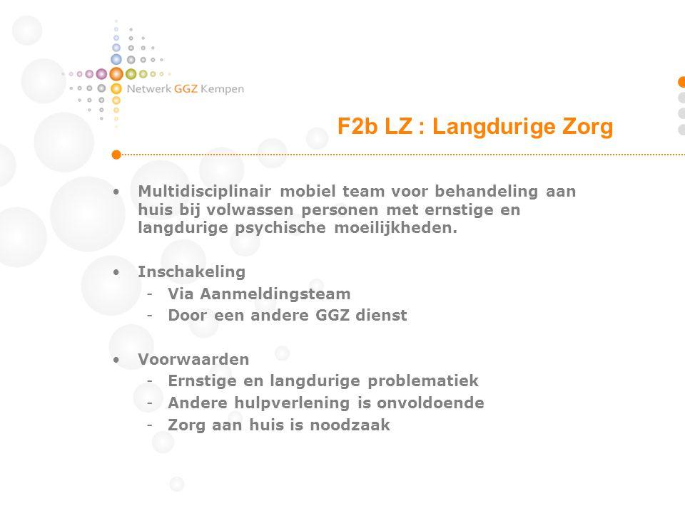 F2b LZ : Langdurige Zorg