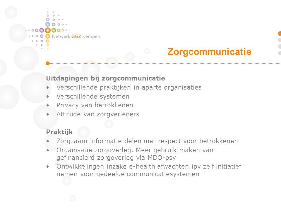 Zorgcommunicatie Uitdagingen bij zorgcommunicatie