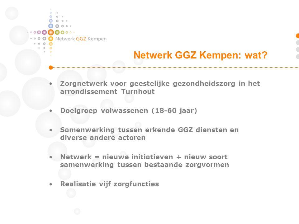 Netwerk GGZ Kempen: wat