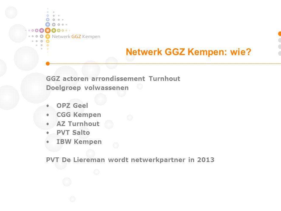 Netwerk GGZ Kempen: wie
