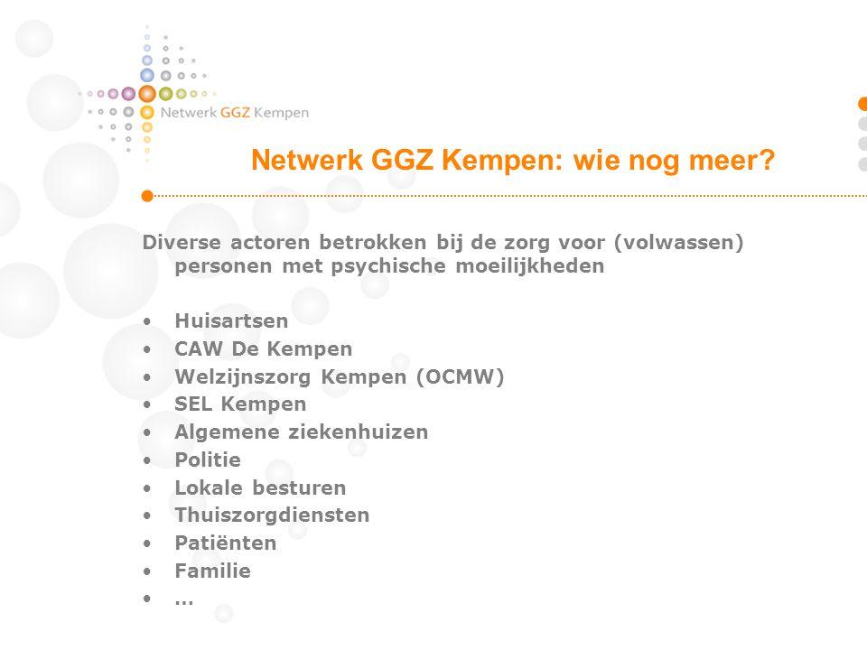 Netwerk GGZ Kempen: wie nog meer