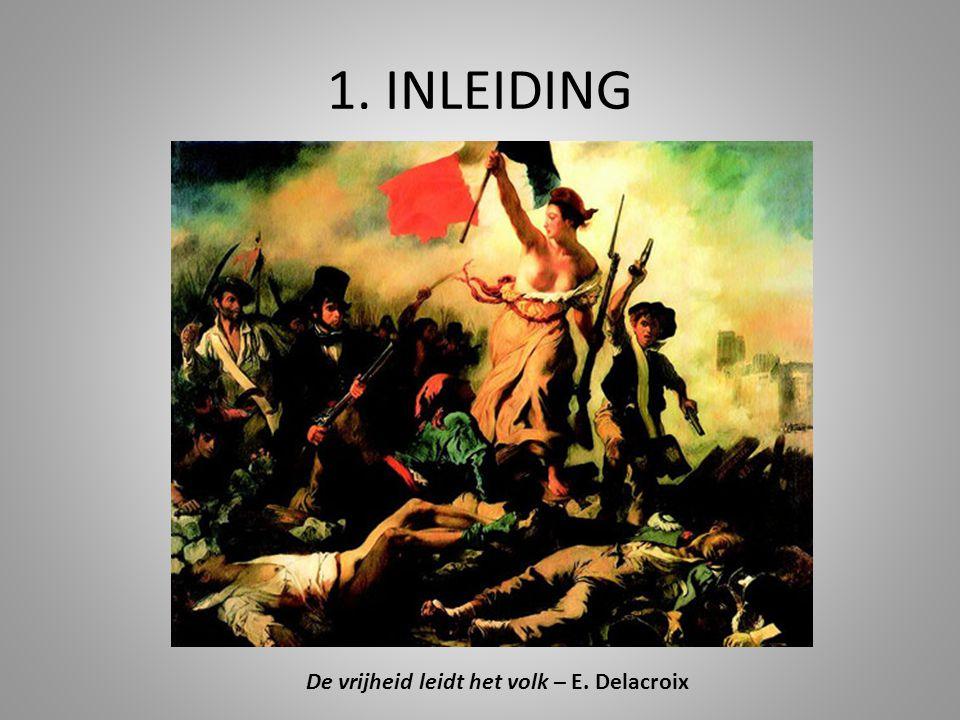 De vrijheid leidt het volk – E. Delacroix