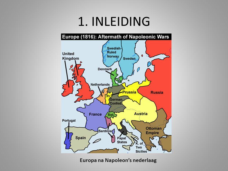 Europa na Napoleon's nederlaag